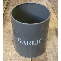 Garlic Storage Tin
